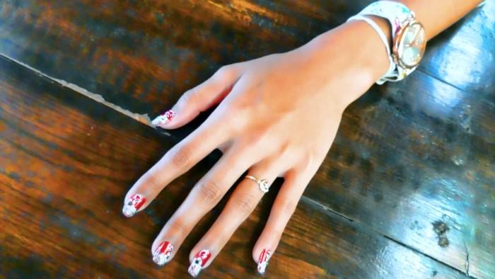 Ann, nail art