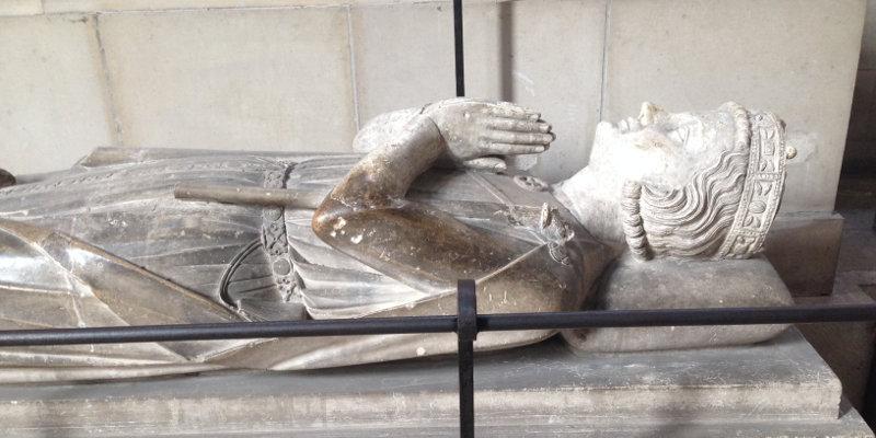Gisant de Richard Cœur de Lion, cathédrale de Rouen